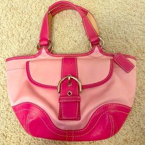 Hot Pink Coach Satchel